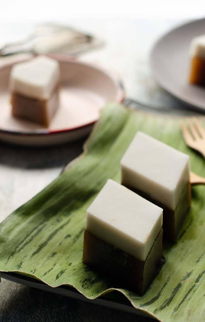 Kuih talam tepung beras
