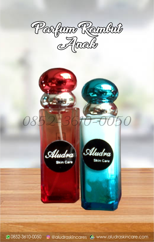parfum rambut anak, aludra skin care, 0852-3610-0050