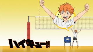 Hellominju.com: ハイキュー!! アニメ   烏野アイキャッチ 第1期 日向翔陽   Haikyū!! Commercial Break    Hello Anime !