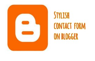 stylish contact us blogger