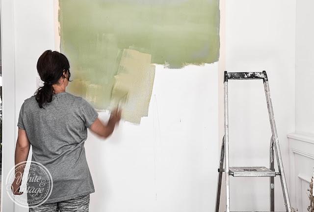 Wandfarbe richtig auftragen