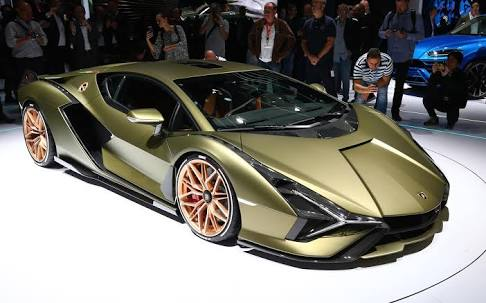 Most Expensive Cars - Lamborghini Sian