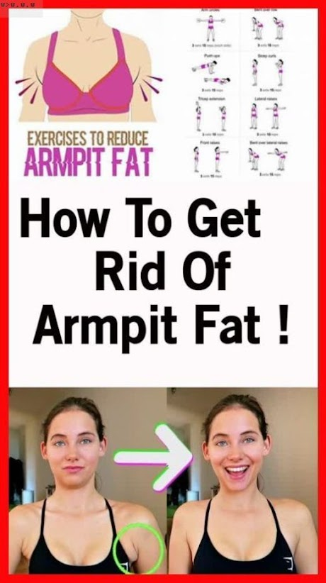 Here's How To Get Rid of Armpit Fat