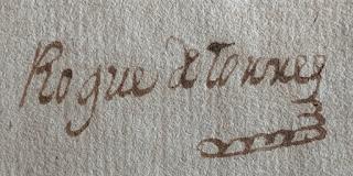 Firma de Roque de Torres