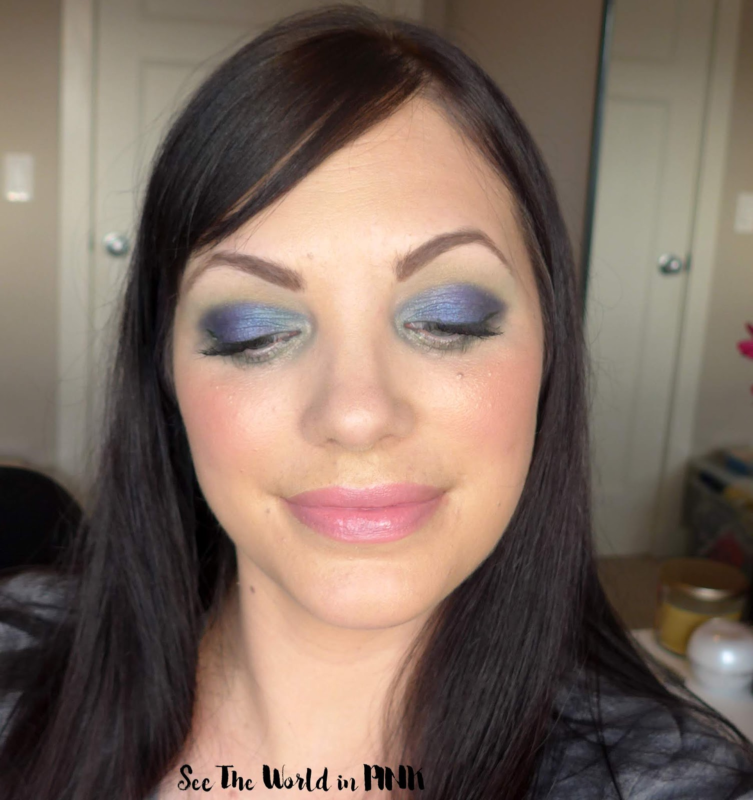 April Shop My Stash - Green & Blue Earth Month Month Look