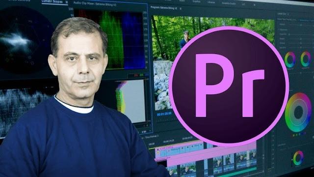Share khóa học biên tập video từ cơ bản đến nâng cao với Premier Pro