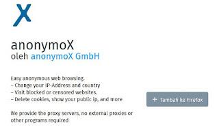 Cara Termudah Membuka Situs Yang Diblokir Menggunakan Aninomox