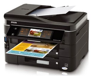 Epson WorkForce 845 All-in-One Printer Drivers Download