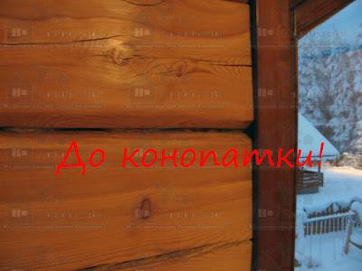 Сложная конопатка лафета в Петровском.