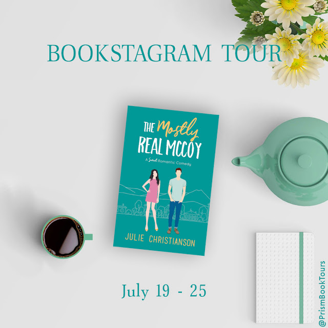 Check out the Bookstagram Tour for THE MOSTLY REAL MCCOY by Julie Christianson!