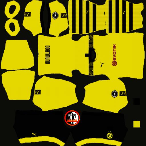 Kits Borussia Dortmund 2020 - Dream League Soccer 2021