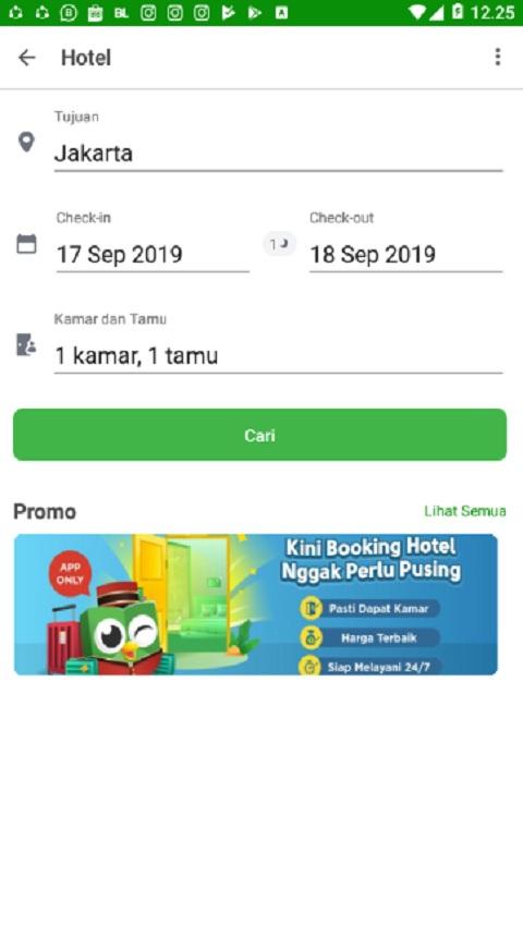 Menentukan dan Memilih Tujuan Hotel di Tokopedia