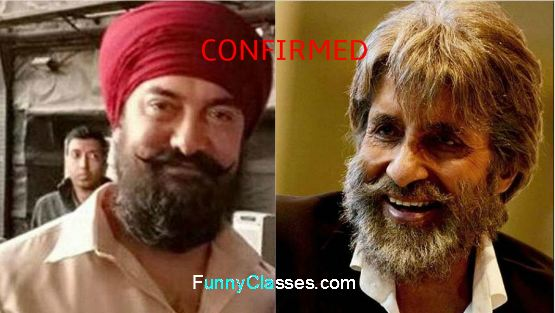Amitabh Bachchan and Aamir Khan's lovers get ready for a blast !!