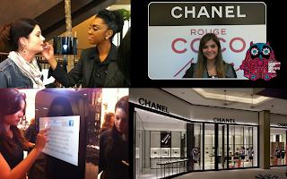 268aa225c8 ... havia um Lip Bar da Chanel exclusivo para provar o batom ROUGE COCO  SHINE (por sinal