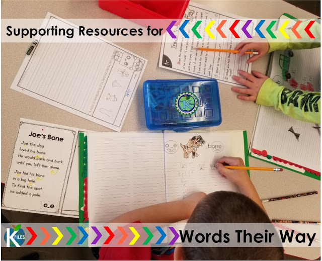 Differentiate your Word Study groups (with or without Words Their Way)! This resource is proven to help make your planning, organization, routine & implementation of differentiated Word Study and Spelling groups much easier! Your Daily 5 literacy centers and rotations or stations will run smoothly as your students will be focused on meeting their spelling & phonics goals. This resource has a Rock Star and Spelling Super Star theme that motivates students