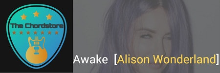 AWAKE Guitar Chords ACCURATE | [Alison Wonderland]