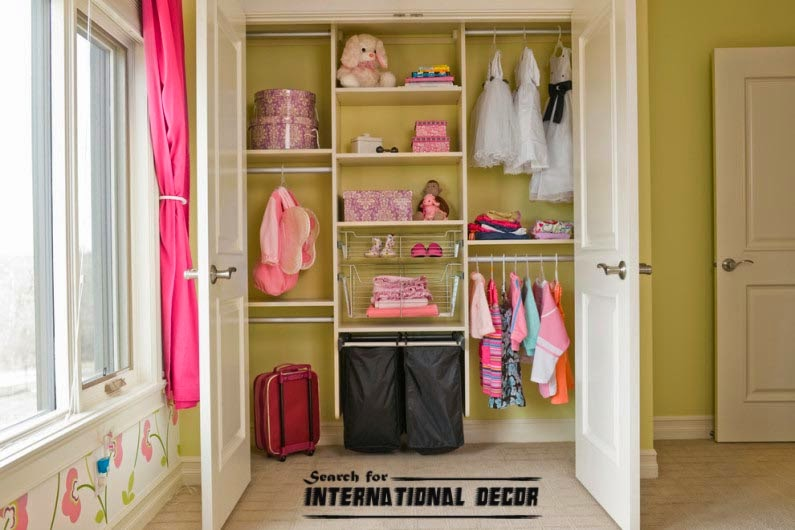 small child's room design,how to save space,kids built in shelving closet