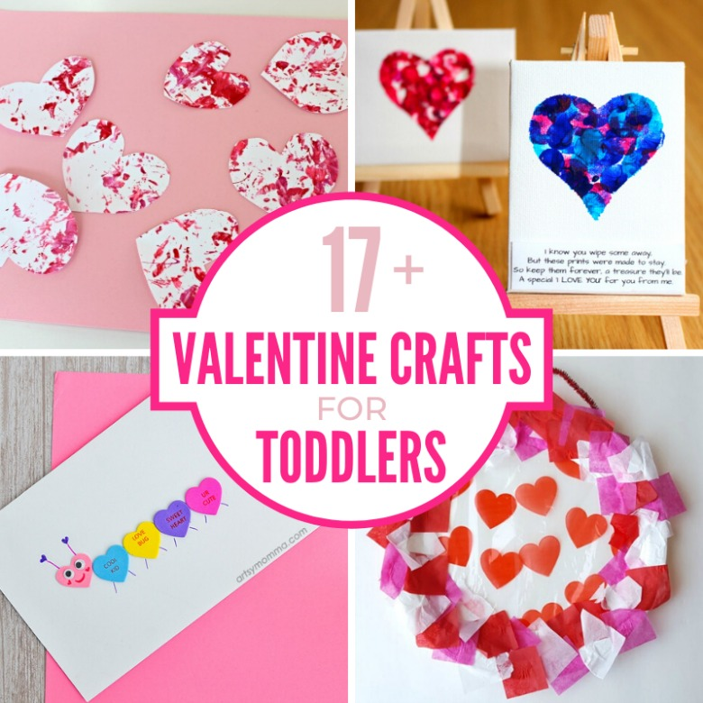 17 Adorable Valentine's Day Crafts for Toddlers