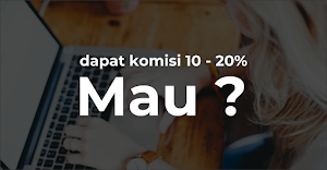Dapatkan Komisi 10% - 20% dari Program Affiliasi Project.co.id