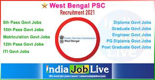 west-bengal-psc-recruitment-wbpsc-indiajoblive.com