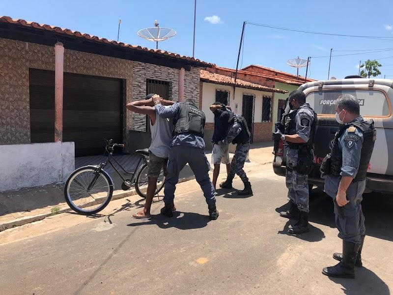 Polícia Militar realiza a operação Cidade Segura em Pedreiras e Trizidela do Vale.