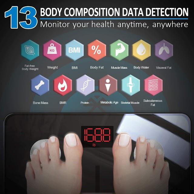 Top 3 Best Hot Body Fat Smart Digital Bathroom Wireless Weight Scale