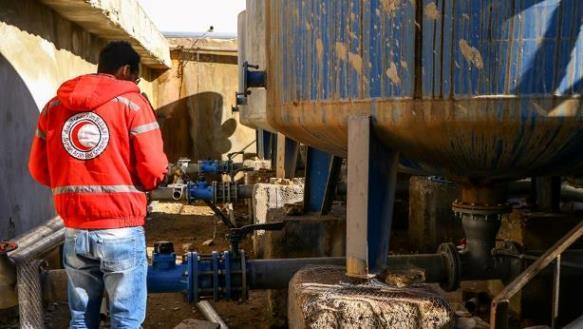 البدء بإعادة تأهيل محطة تصفية مياه سد المشنف بريف السويداء الشرقي.