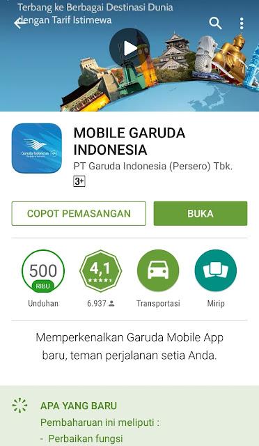 Mudahnya Check-In dengan Aplikasi Garuda Indonesia