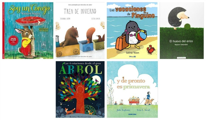 selección libros infantiles y cuentos sobre estaciones del año