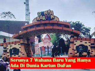 Yuk Nikmati 7 Wahana Baru Di Dunia Kartun Dufan Jakarta