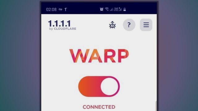 تطبيق في بي ان VPN مجاني على الاندرويد والايفون من Cloudflare