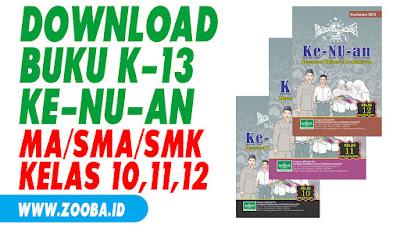 Download Buku Ke-NU-an Kelas X, XI, XII SMA/MA/SMK/MAK K-13