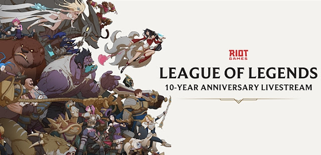 Riot Games, League of Legends,  10-Year Anniversary, Livestream, Games, Lifestyle