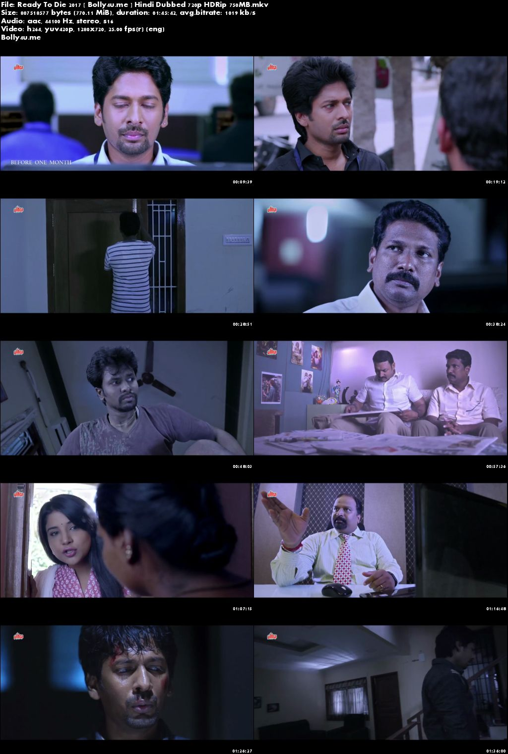 Ready To Die 2017 HDRip 350MB Hindi Dubbed 480p Download