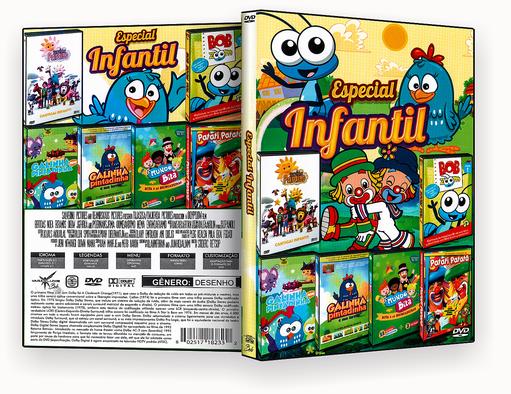 CAPA DVD – Especial Infantil – ISO