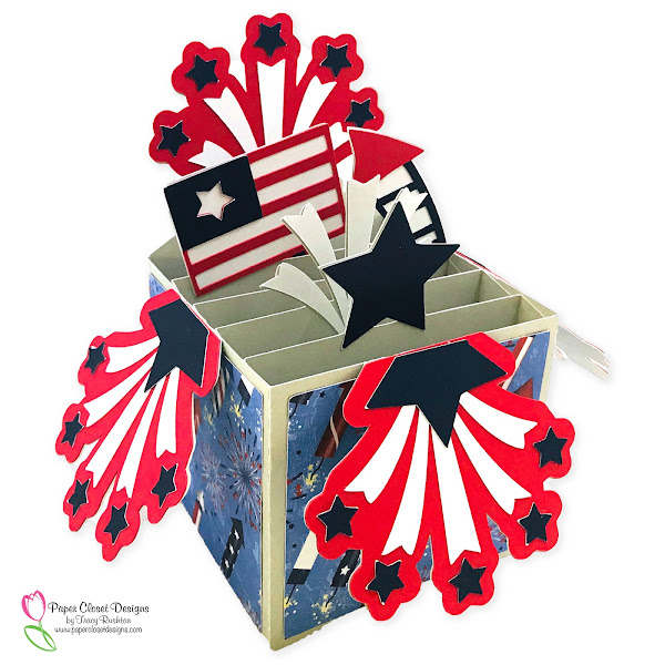 Patriotic Box Card