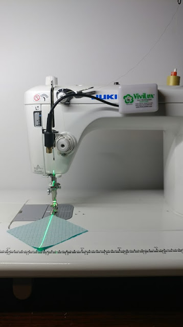 Sewing machine laser