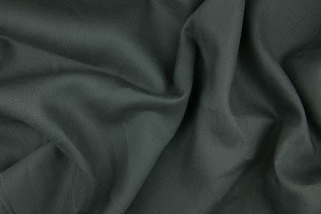 Dark Grey Handkerchief Linen Fabric