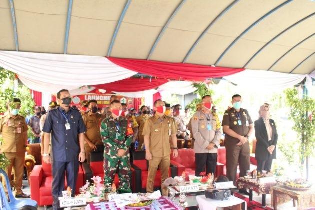Kapolres barsel bersama FKPD ikuti launching lewu isen mulang di desa Mabuan