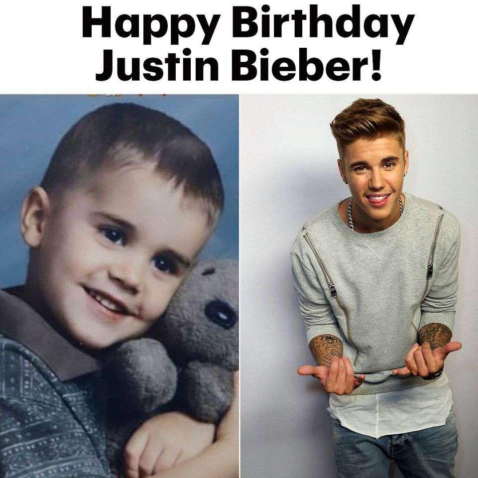 Justin Bieber's Birthday Wishes for Instagram