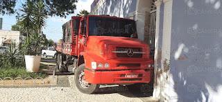 Motorista atropelado pelo próprio caminhão morre no Tarcísio Maia em Mossoró
