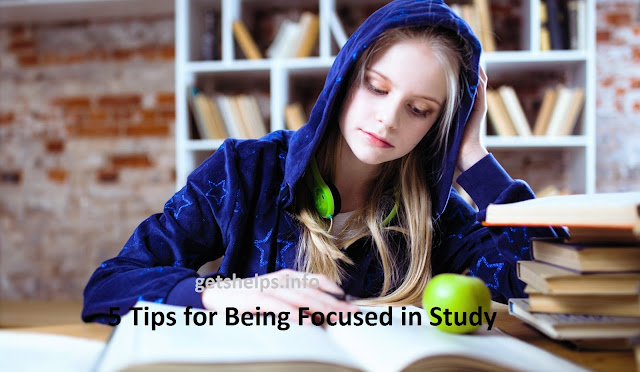 7 Tips for Being Focused in Study