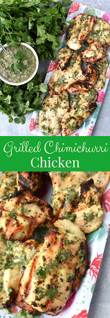 Grilled Chimichurri Chicken recipe