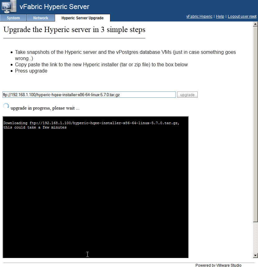 StorageGumbo: Hyperic 5 7 Released - vApp Upgrade Overview