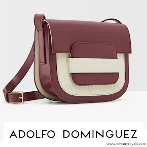 Queen Letizia Style Adolfo Dominguez Shoulder Bag
