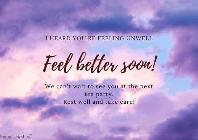 get well soon messages grandmother