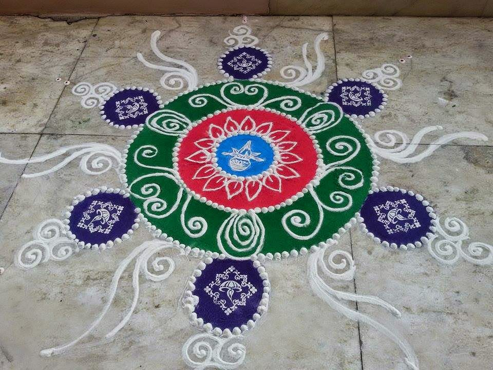 Rangoli Diwali Collection 2014 3