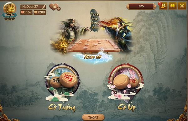 Cờ tướng online - Tải và chơi game Cờ Tướng, Cờ Up trực tuyến miễn phí c
