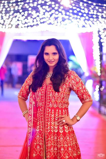 Sania Mirza sister Haldi Ceremony