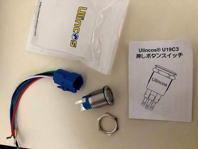 Ulincosの押しボタンスイッチ